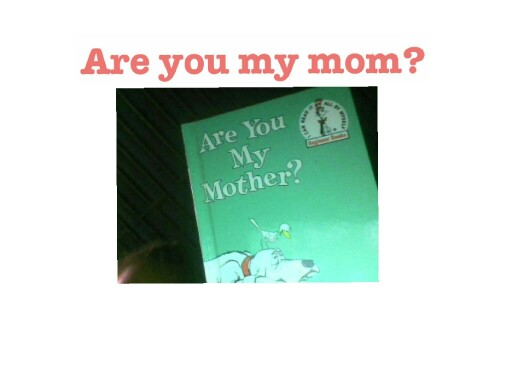 this is the story are you my mother. also also there's a  part 2 if you want to see the rest find pt2 by saya brown