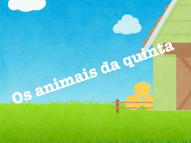 Os animais da quinta by Inês Barros