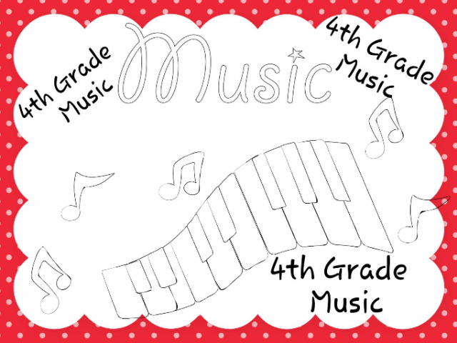 4th Grade Music by Julia Hearn
