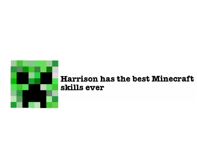 Minecraft skill by Harrison Farr