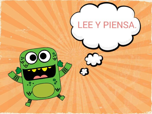 Lee y piensa. by lourdes jimenez