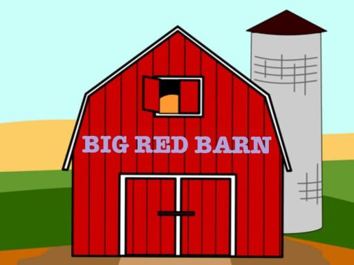 Big red barn by Andrey Nikolayenko