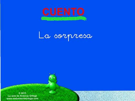 11 LEER H y Q.CUENTO LA SORPRESA by Antonia Ortega López