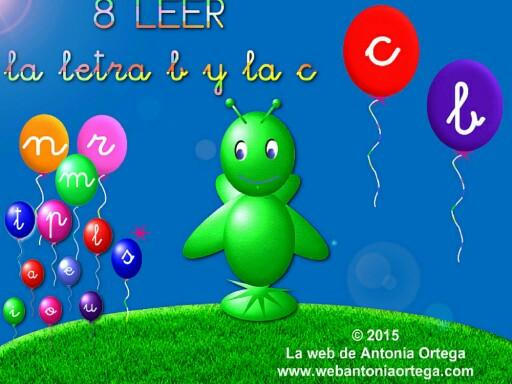 8 LEER B C by Antonia Ortega López