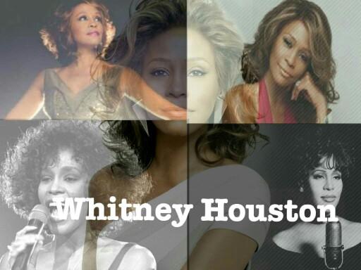 Whitney Houston  by Pia Badone