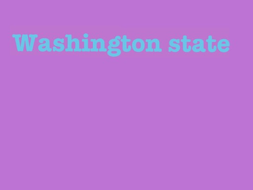 Info on Washington State by Heather Norum