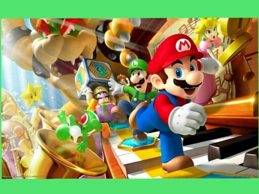 Achando letras com o Mario Bros. by Victória Castro