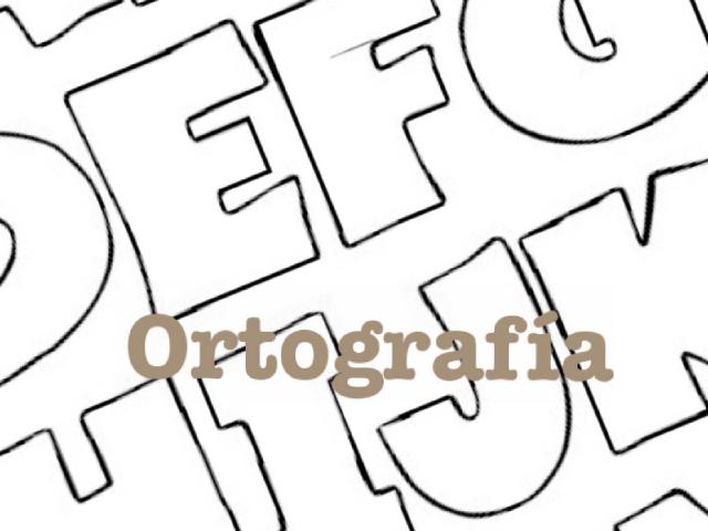 Ortografía by carlos garcia