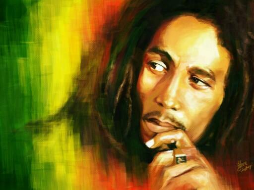 Bob Marley  by Angel Chifoni