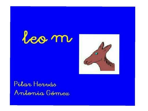 LEO CON LA M by pilitoninas primitivas