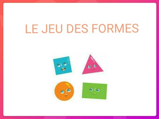 Le jeu des formes by Morgane Pi