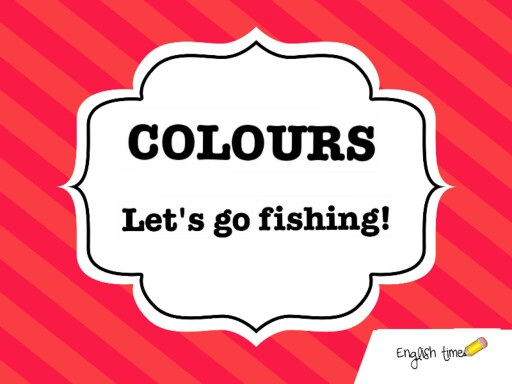 Colours ~ let's go fishing! by Cecilia Zezlin