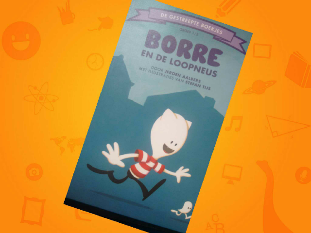 Borre en de loopneus by Sanne de Jong