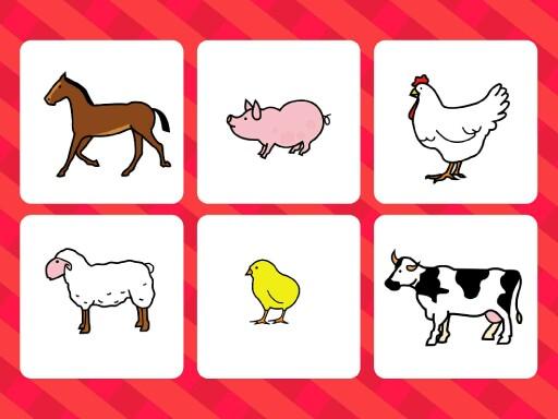 animales de la granja by Isabel García