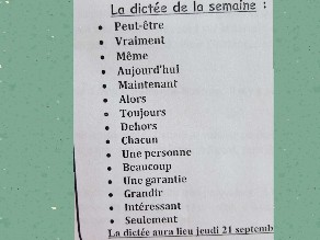 Dictée by Louis Kdouh