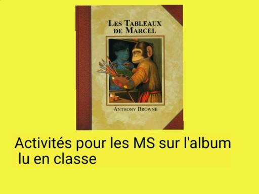 SRA Les tableaux de Marcel by Serge Salvat
