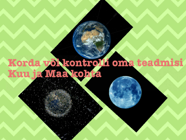 Kuu ja Maa by Tiiu Vendel