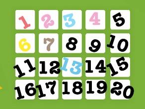 الأرقام من 1إلى 20 by Alaa Sayed