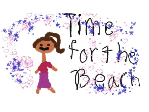 Time for the beach. by Emma Stanfield