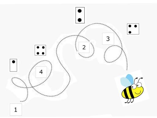 Bijen vergelijkspel by Florence Van Praet