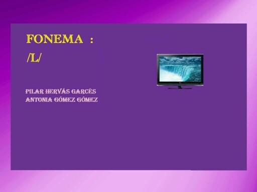 Fonema L by pilitoninas primitivas