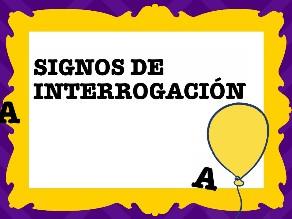 Signos de interrogación by Colegio Jaby