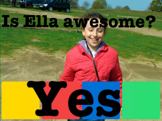 Ella is awesome  by Teresa Camilleri