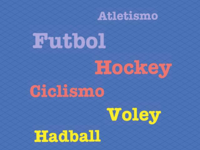 adivina cual deporte es by Benjamin Luis Carrizo