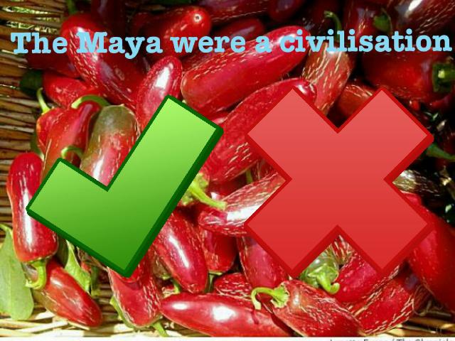 maya quiz by Teresa Camilleri