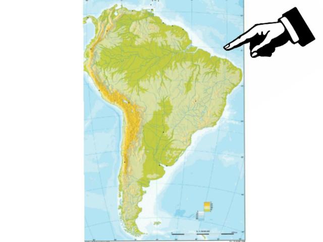 América del sur  by Antonio Reyes Rodriguez
