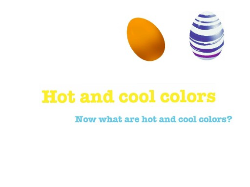 hot and cool colors by jayleen urbano