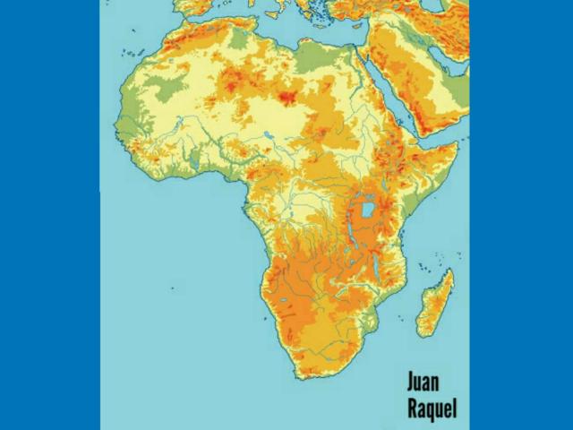 Juego Mapa Físico África  by Juan Toril