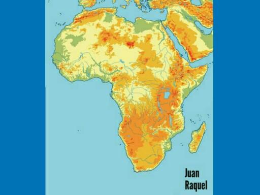 Juegos sobre el relieve de África  by Juan Toril
