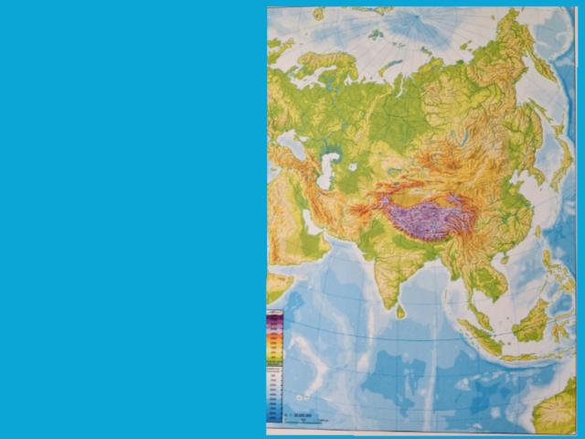 Mapa Asia by Juan Diego Moya Parreño