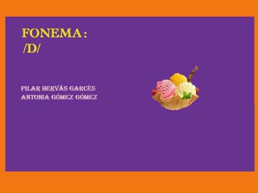Fonema d by pilitoninas primitivas