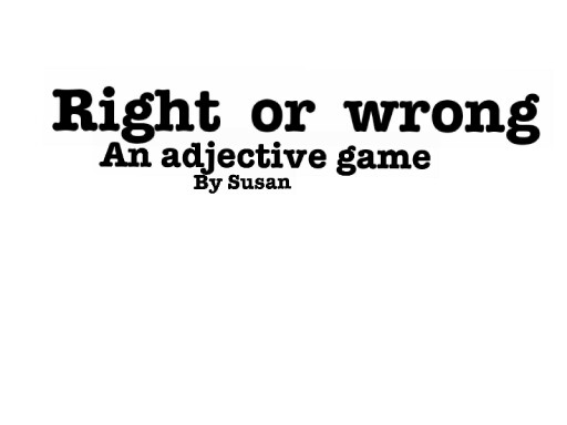 This game is to help kids with adjectives in writing / fundations for all English by Mikey James