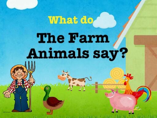 What do the Farm Animals say? by Escola lápis de cor