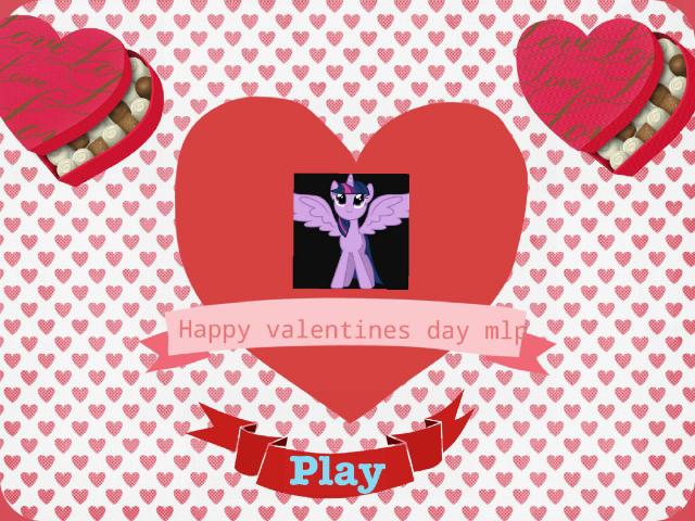 happy valentines day mlp by Isabella Abbott