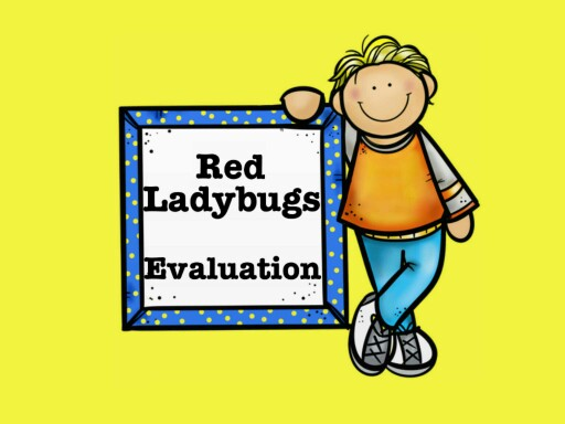 Red Ladybugs Evaluation by Lab Preescolar null