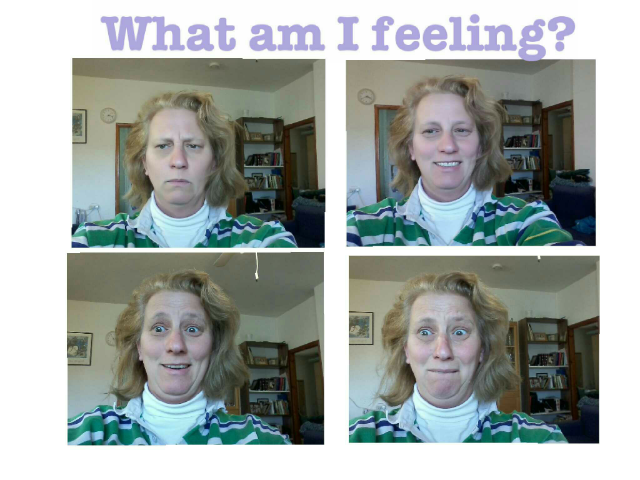Learn to connect emotions and facial expressions. by Yael Ukeles