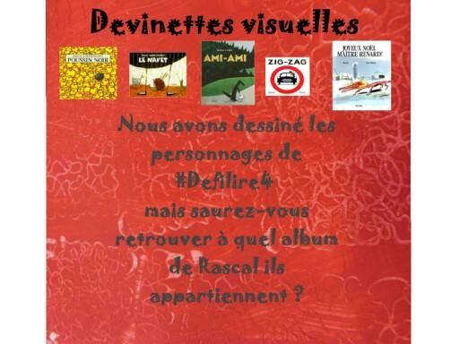 devinettes visuelles#defilire4 by Murielle Ducroo