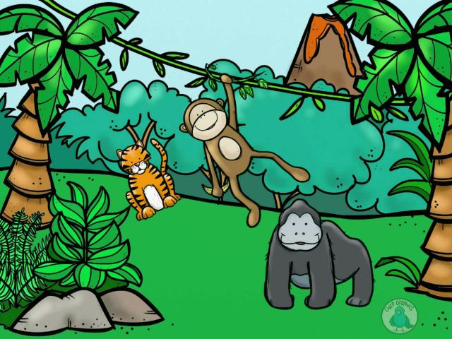 Identificación animales salvajes  by Marta Juarez Moreno