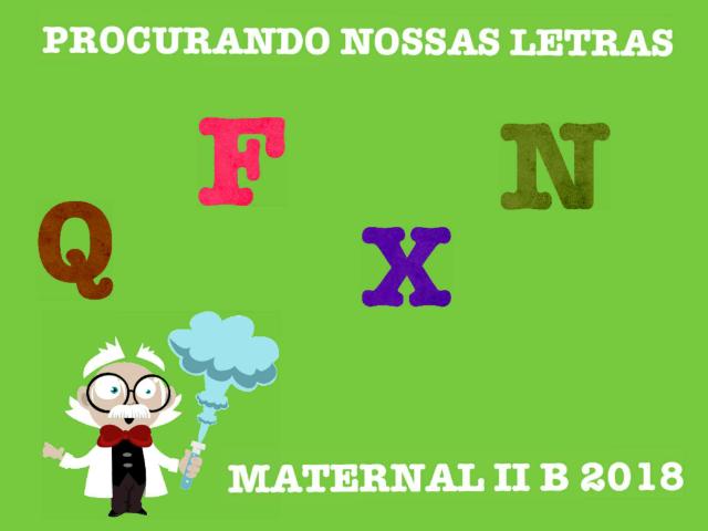 PROCURANDO NOSSAS LETRAS MAT II B by Luciana Pereiras