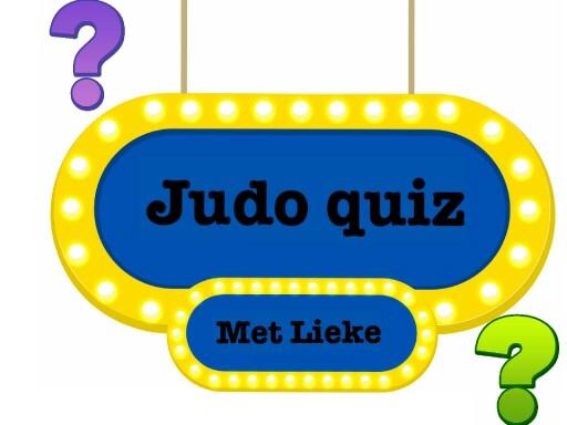 judo quiz examen by Lieke van der Tang