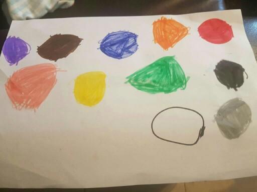 צבעים באנגלית by מור קנדי