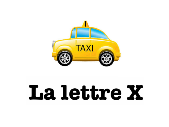 39. La lettre X by Arnaud TILLON