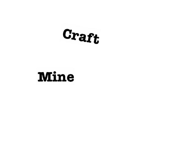 mine        craft by Kari Isenhour