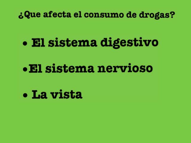 Drogadicción by lucia torres