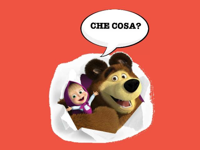 Masha e Orso by Silvia Lucchin