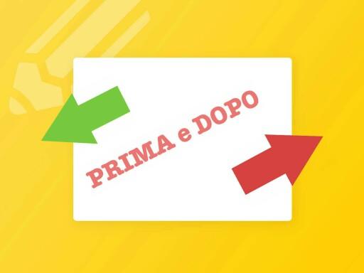 PRIMA e DOPO by Marta Skerl